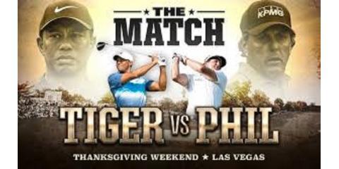 THE MATCH Tiger vs. Phil, Wesley Chapel, Florida