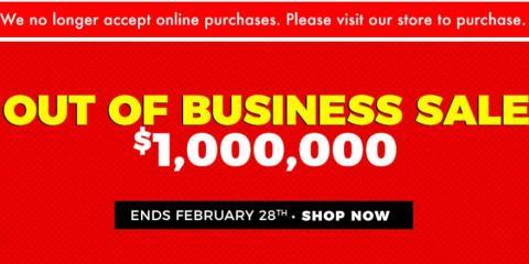 Join WOW Furniture for Their $1,000,000 Closeout Sale!, Dallas, Texas