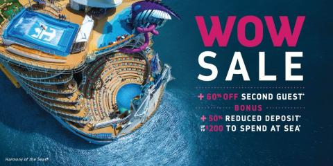 Wow! Cruise Savings, Onboard Credit and more!, Richfield, Minnesota