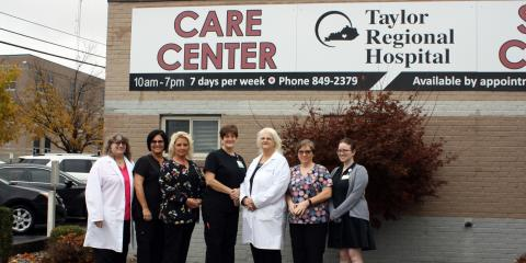 Taylor Regional Hospital Walk-In Clinic, Medical Clinics, Services, Campbellsville, Kentucky
