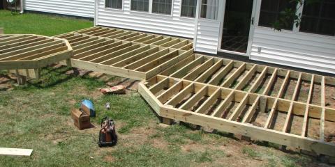 Can I build a room on my Deck?, Trinity, North Carolina