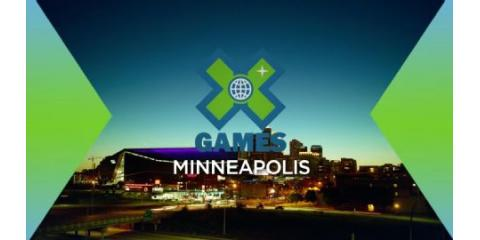 The X-Games are finally here!, Minneapolis, Minnesota