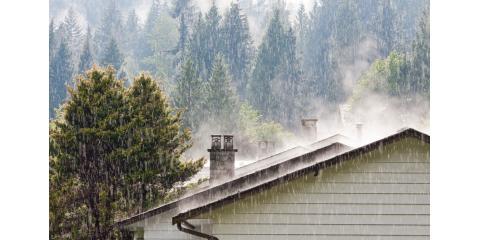 Preparing For Heavy Rain, Weathersfield, Vermont