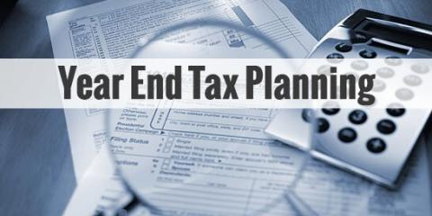 Time to Start Thinking About Year-End Tax Moves, Chandler, Arizona