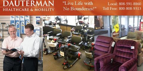 Dauterman Healthcare & Mobility, Mobility Scooters, Health and Beauty, Honolulu, Hawaii