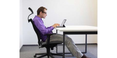 Chiropractor Advises on Ergonomically Sound Home Workstations, Manhattan, New York