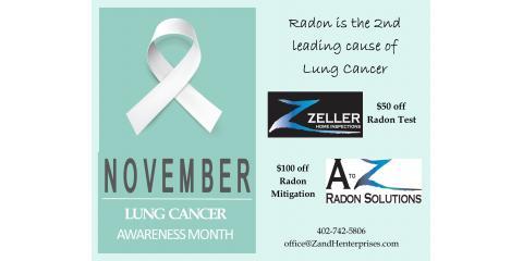 Radon Special November- January, Lincoln, Nebraska