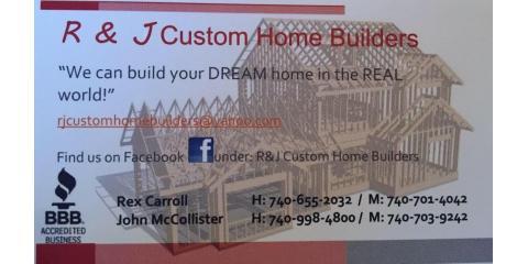 R & J Custom Home Builders, Custom Homes, Services, Chillicothe, Ohio