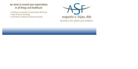 Augusto Fojas, DDS. Dentistry for Adults and Children, Dentists, Health and Beauty, Westerville, Ohio