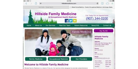Hillside Family Medicine LLC & Occupational Medicine, Family Doctors, Health and Beauty, Anchorage, Alaska