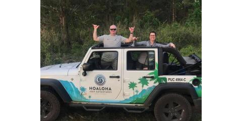 Hoaloha Jeep Adventures, Tour Operators, Services, Kahului, Hawaii