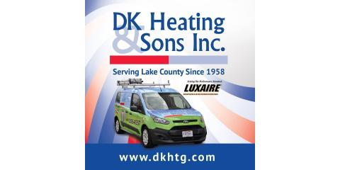 DK Heating & Sons, Inc., Air Conditioning Contractors, Services, Perry, Ohio