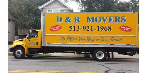D & R Movers, Residential Moving, Services, Cincinnati, Ohio