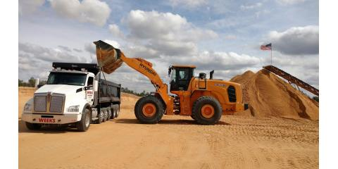 Weeks Sand & Concrete, Stone Sand & Clay, Services, Cameron, North Carolina
