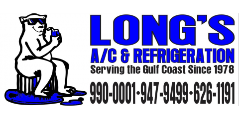 Long's Air Conditioning & Refrigeration, Air Conditioning Contractors, Services, Silverhill, Alabama