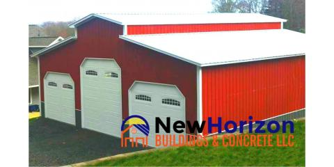 New Horizon Buildings and Concrete, LLC, Metal Buildings, Shopping, Franklinville, North Carolina