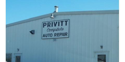 Privitt Auto Service Center, Auto Repair, Services, Columbia, Missouri