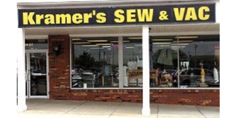 Kramer's Sew & Vac Center, Sewing Machines, Shopping, Cincinnati, Ohio