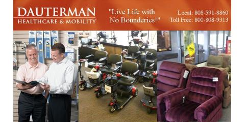 Dauterman Healthcare and Mobility, Mobility Scooters, Health and Beauty, Honolulu, Hawaii
