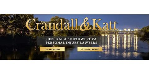 Crandall Daniel L & Associates PC, Personal Injury Law, Services, Roanoke, Virginia