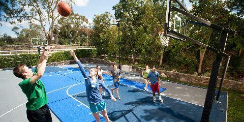 Sport Court St. Louis, Basketball Courts, Family and Kids, Labadie, Missouri