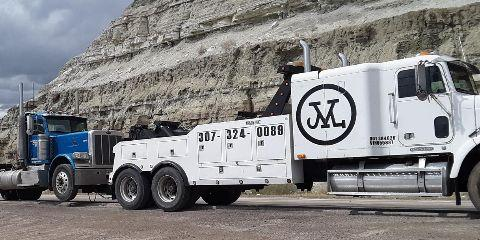 M Towing and Recovery, Towing, Services, Rawlins, Wyoming