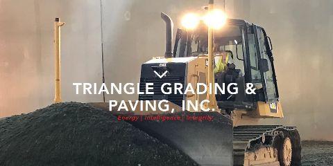 Triangle Grading And Paving Inc, Paving Contractors, Services, Burlington, North Carolina