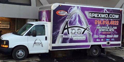 Apex Restoration, Water Damage Restoration, Services, St. Louis, Missouri