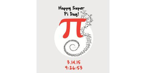 "This Year's Pi Day is ""The Pi Day of the Century"", Novi, Michigan"